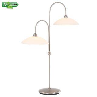 Dimbare tafellamp 2 lichts led