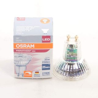 GU 10 LED spot 3,1 watt dimbaar warm wit
