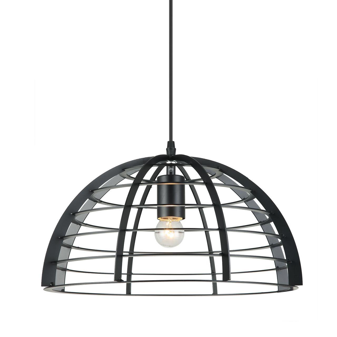 Hanglamp zwart scandinavisch design Neptunus 5519.01