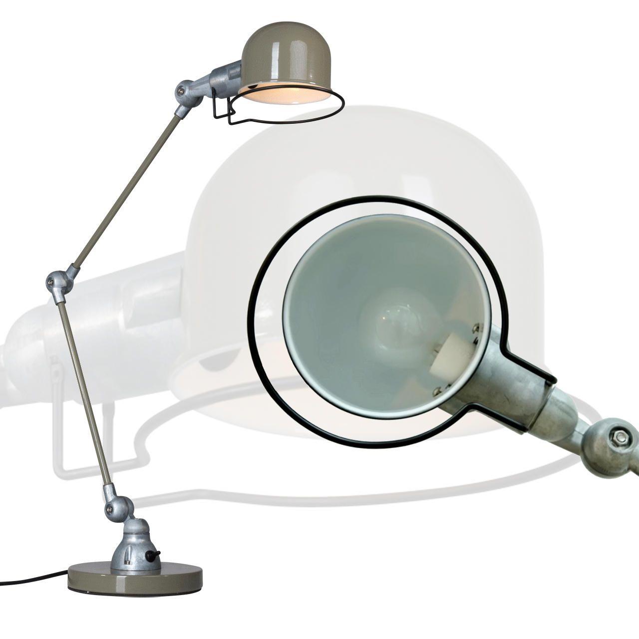 Industrieel groene bureaulamp Jikke LampenConcurrent.nl