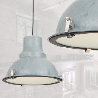 industriële hanglamp grijs / beton gepatineerd ⌀ 40 cm