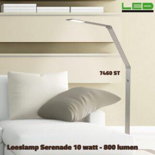 Leeslamp Serenade led 3 standen dimbaar 10 watt - 800 lumen