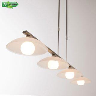 Modene eettafel hanglamp 4 lichts led