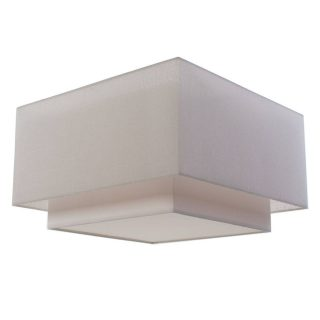 Plafondlamp 'Square' 55x55cm wit