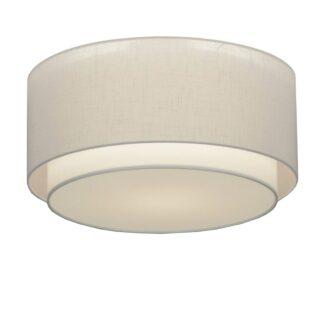 Plafondlamp 'Verona' 47 cm wit