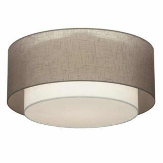 Plafondlamp 'Verona' 61 cm taupe