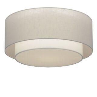 Plafondlamp 'Verona' 61 cm wit