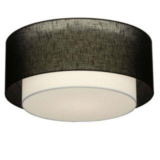 Plafondlamp 'Verona' 61 cm zwart