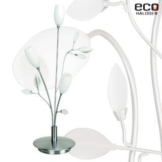 Romantisch moderne 3 lichts tafellamp grosseto staal