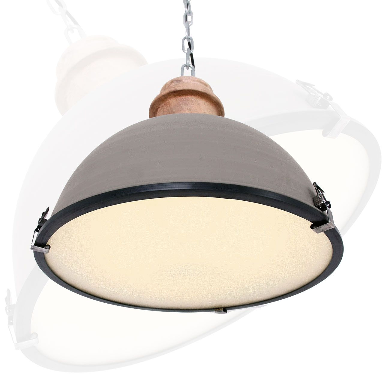 Scandinavisch industriële hanglamp Bikkel 1459GR LampenConcurrent.nl