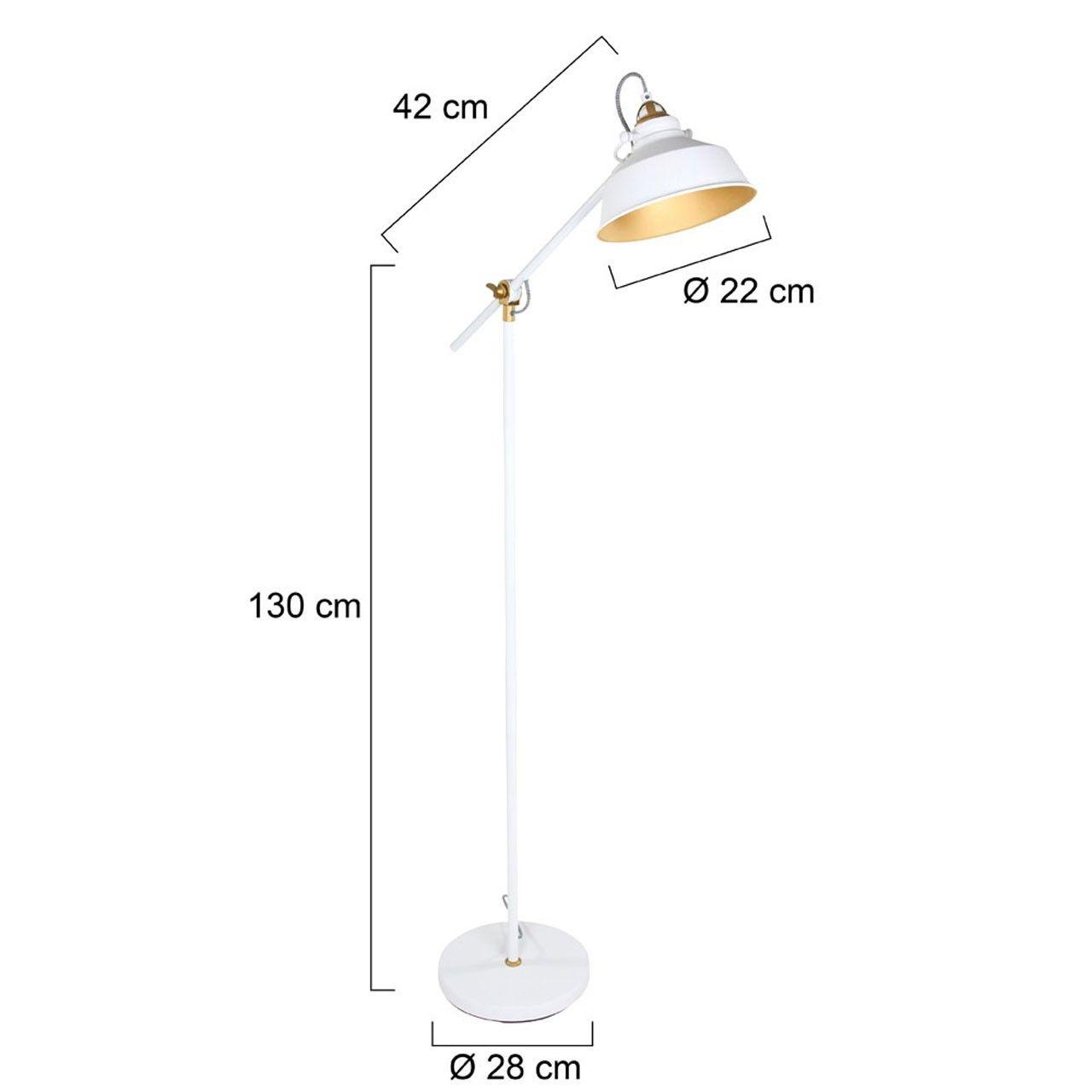 Fonkelnieuw Scandinavische vloerlamp wit - LampenConcurrent.nl XC-37
