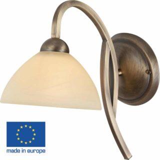 Wandlamp 'Capri' 1 lichts boog